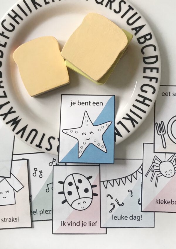 De liefste broodtrommelbriefjes voor je kind + gratis download