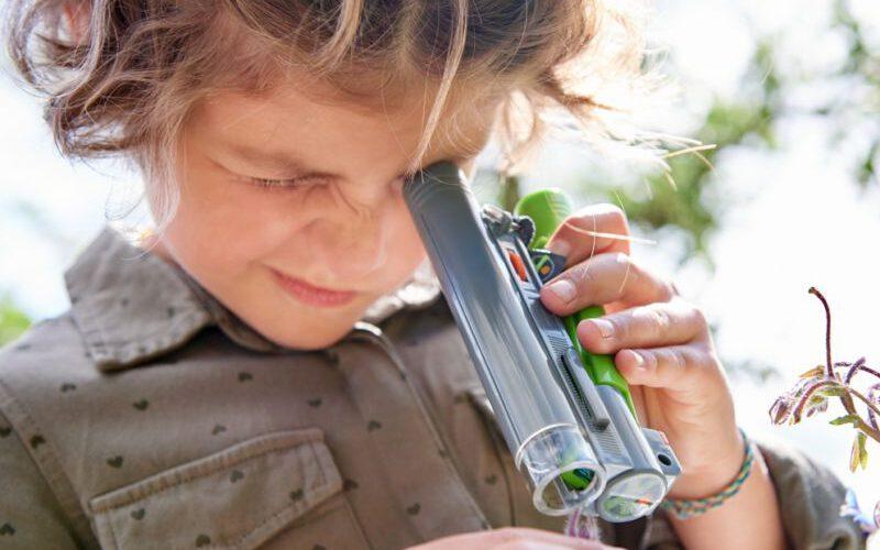 haba terra kids speelgoed microscoop