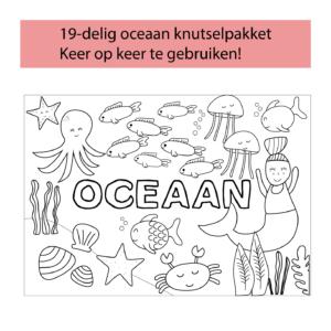 printable oceaan knutselpakket voor kinderen