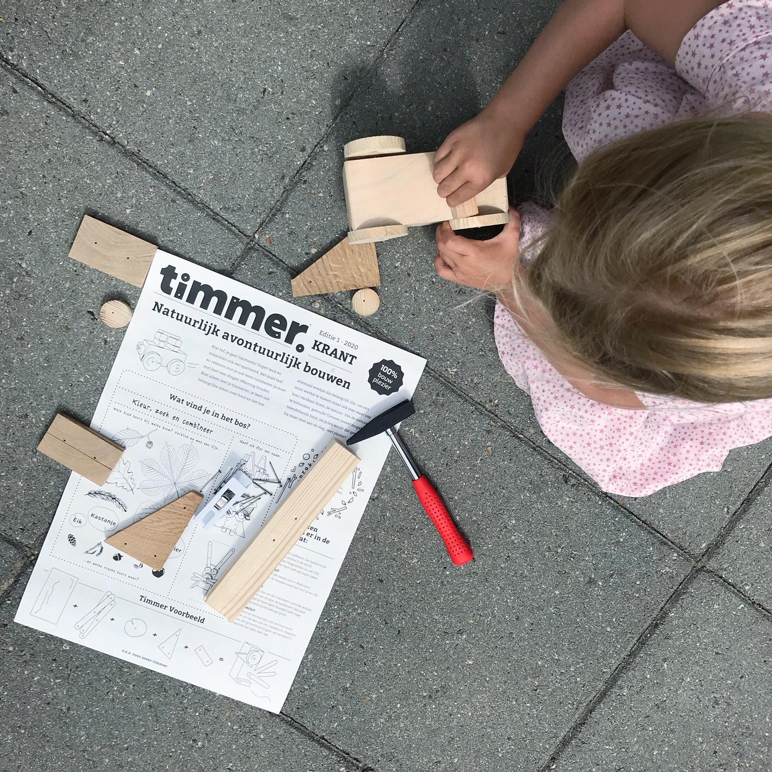 Timmer Amsterdam timmeren voor kinderen en kinder gereedschap