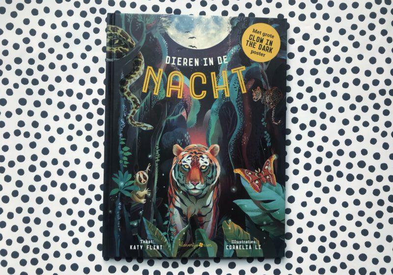 kinderboek glow in the dark dieren in de nacht