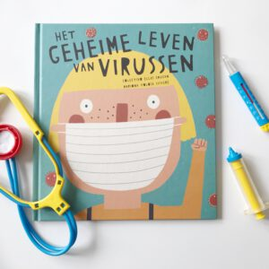 Dit kinderboek over virussen is super relevant nu en helpt je kind wellicht (+WIN)