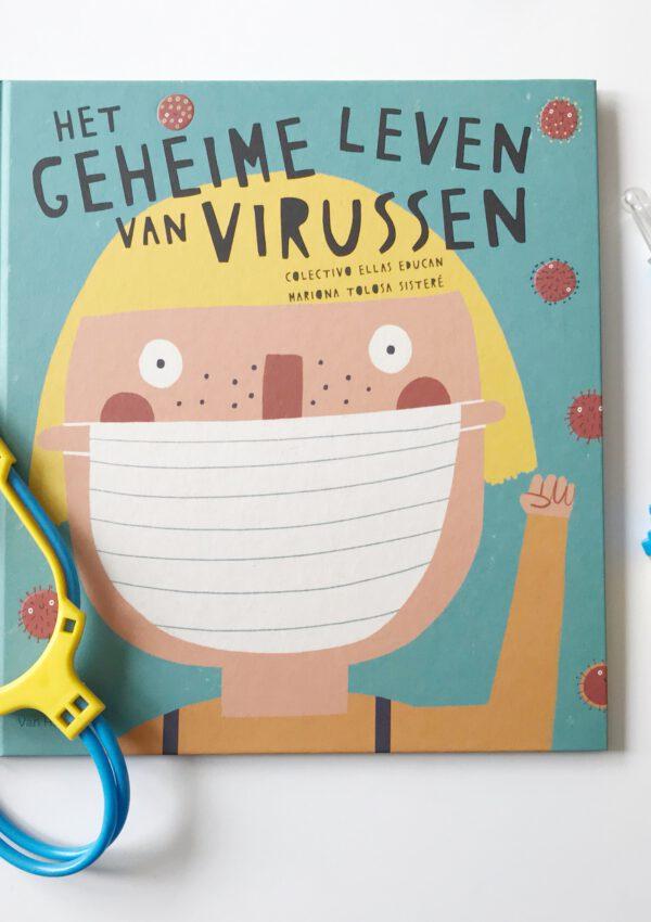 Dit kinderboek over virussen is super relevant nu en helpt je kind wellicht