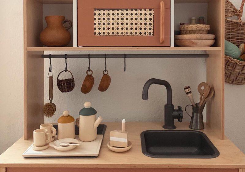 houten speelgoed keuken keukengerei