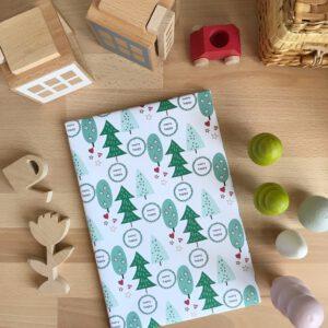 Gratis printable kerst inpakpapier voor de leukste kerstcadeautjes