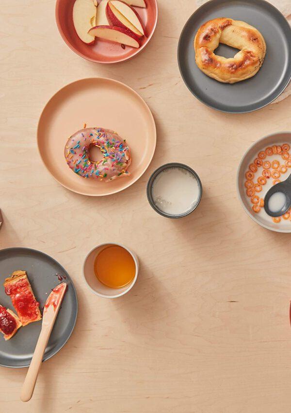 9x super stijlvol kinderservies en placemats voor een mooi gedekte tafel