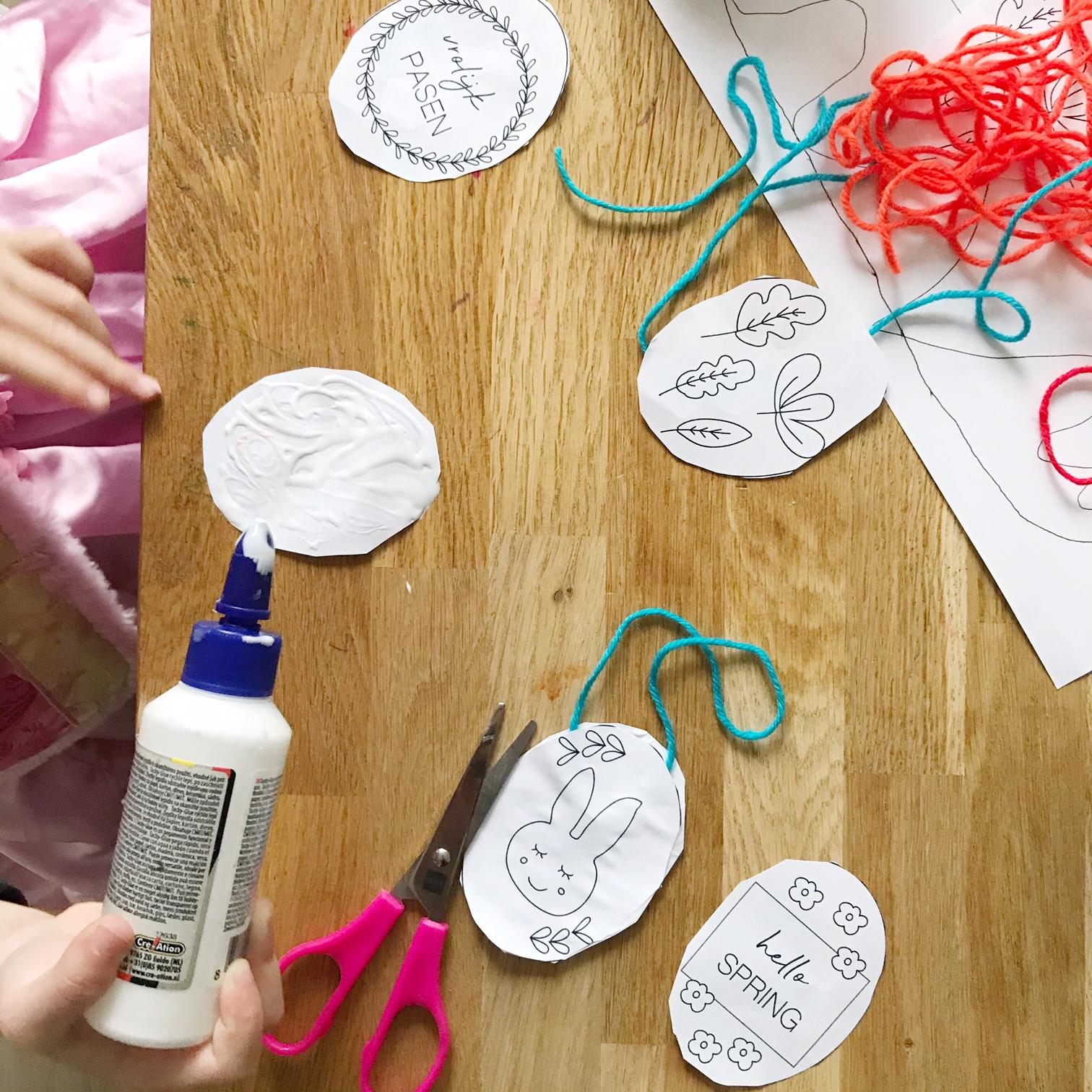paasdecoratie knutselen met kinderen