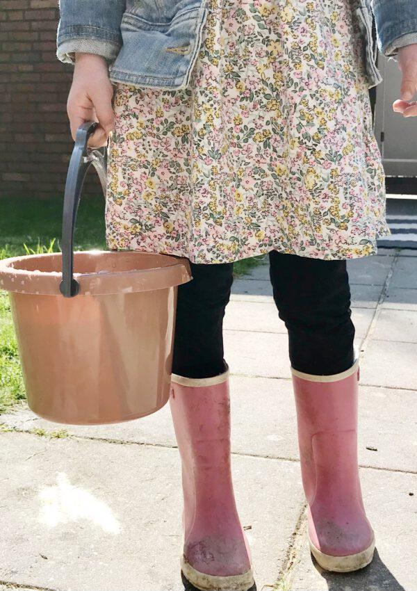 Deens Design in de zandbak: Green Bean buitenspeelgoed in natuurtinten (+win!)