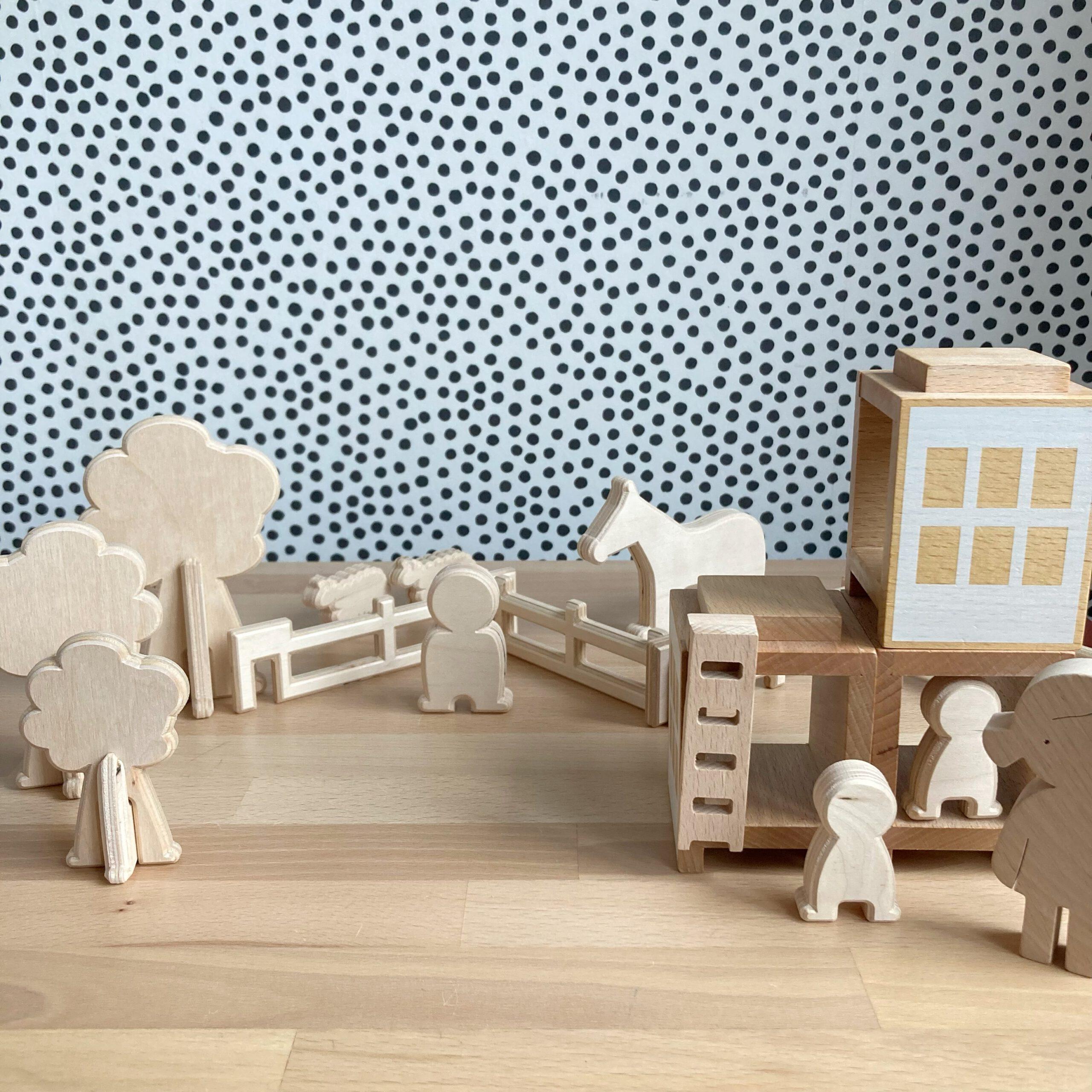 duurzaam houten speelgoed boerderij lovelties