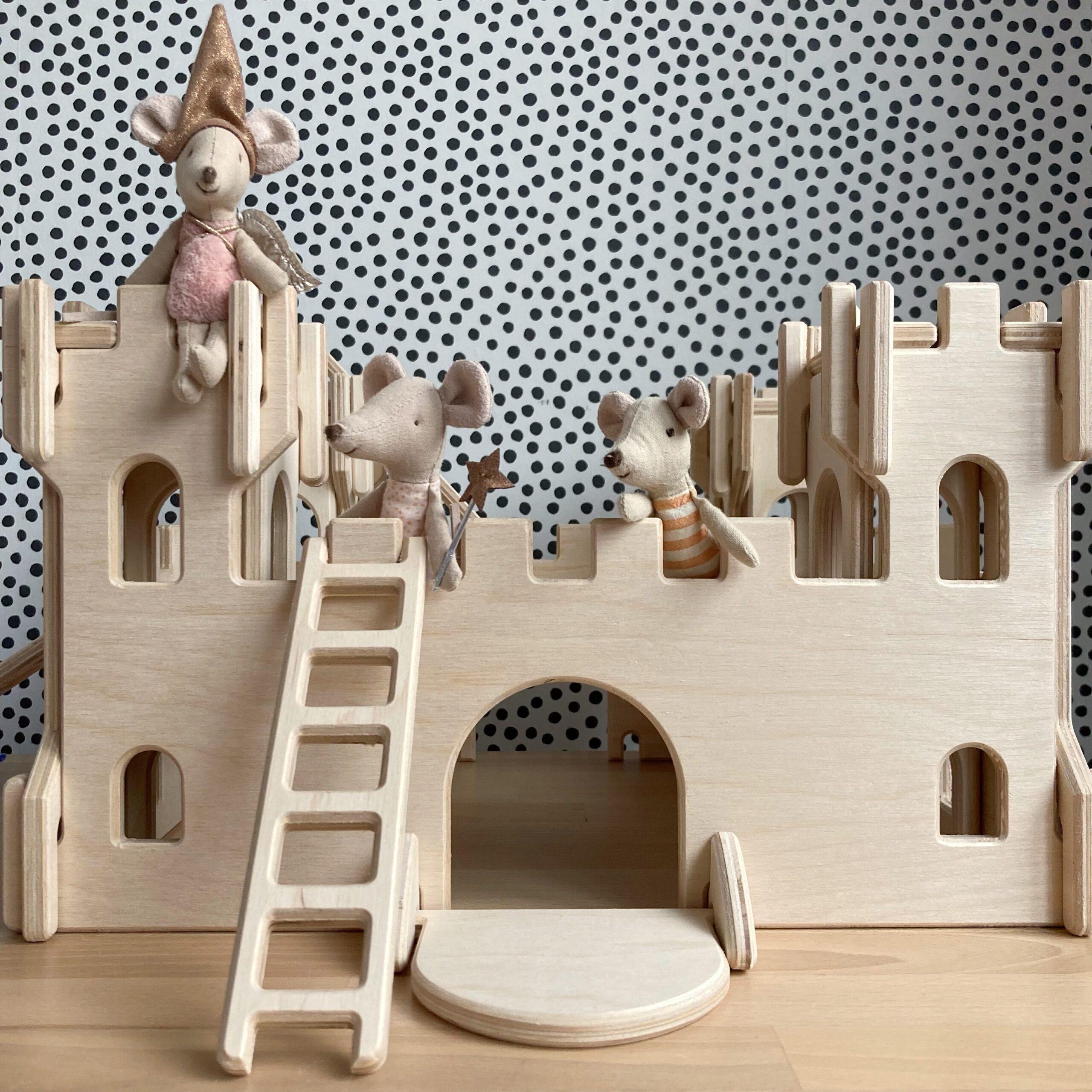 houten speelgoedhuisjes burcht lovelties
