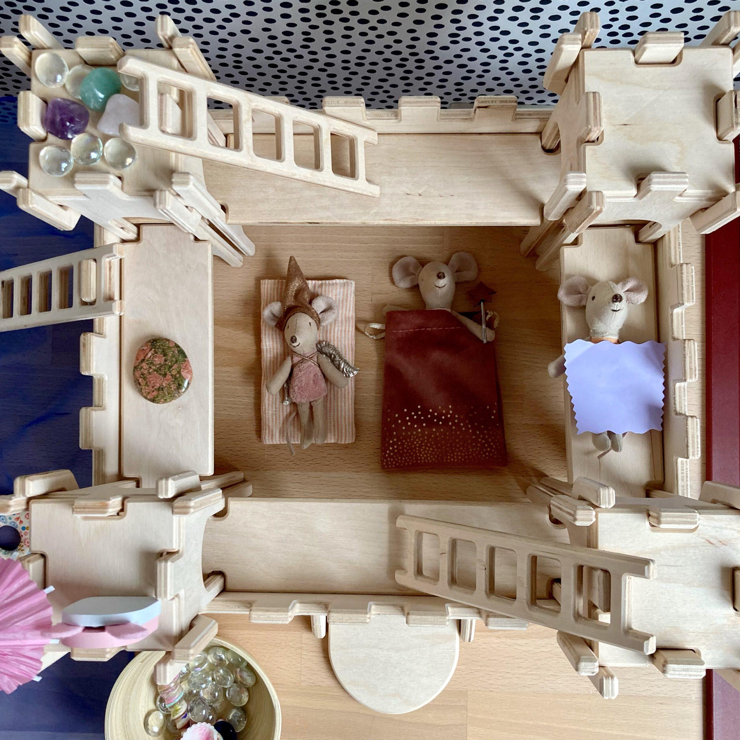 houten speelgoedhuisjes lovelties kasteel burcht